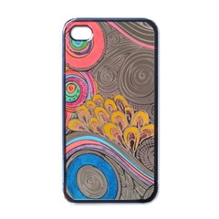 Rainbow Passion Apple Iphone 4 Case (black) by SugaPlumsEmporium