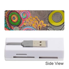 Rainbow Passion Memory Card Reader (stick)  by SugaPlumsEmporium