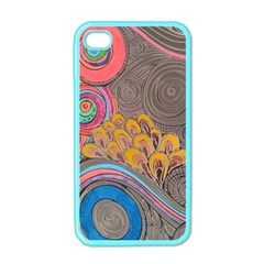 Rainbow Passion Apple Iphone 4 Case (color) by SugaPlumsEmporium