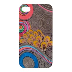 Rainbow Passion Apple Iphone 4/4s Hardshell Case by SugaPlumsEmporium