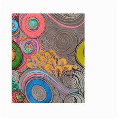 Rainbow Passion Large Garden Flag (two Sides) by SugaPlumsEmporium