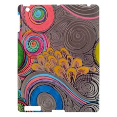 Rainbow Passion Apple Ipad 3/4 Hardshell Case by SugaPlumsEmporium