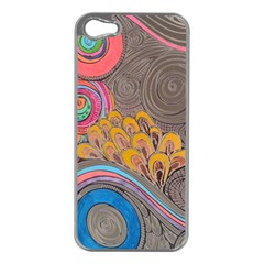 Rainbow Passion Apple Iphone 5 Case (silver) by SugaPlumsEmporium