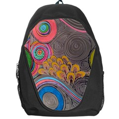 Rainbow Passion Backpack Bag by SugaPlumsEmporium