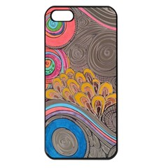 Rainbow Passion Apple Iphone 5 Seamless Case (black) by SugaPlumsEmporium