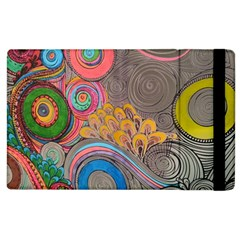 Rainbow Passion Apple Ipad 2 Flip Case by SugaPlumsEmporium
