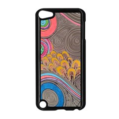 Rainbow Passion Apple Ipod Touch 5 Case (black) by SugaPlumsEmporium