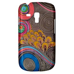 Rainbow Passion Samsung Galaxy S3 Mini I8190 Hardshell Case by SugaPlumsEmporium