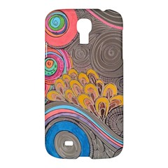 Rainbow Passion Samsung Galaxy S4 I9500/i9505 Hardshell Case by SugaPlumsEmporium