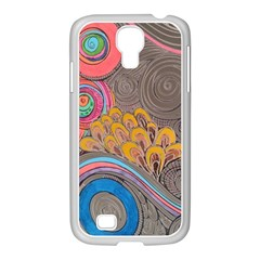 Rainbow Passion Samsung Galaxy S4 I9500/ I9505 Case (white) by SugaPlumsEmporium
