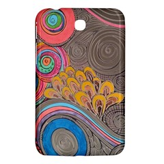Rainbow Passion Samsung Galaxy Tab 3 (7 ) P3200 Hardshell Case  by SugaPlumsEmporium
