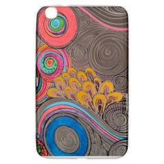 Rainbow Passion Samsung Galaxy Tab 3 (8 ) T3100 Hardshell Case  by SugaPlumsEmporium