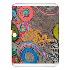 Rainbow Passion Samsung Galaxy Tab 3 (10 1 ) P5200 Hardshell Case  by SugaPlumsEmporium