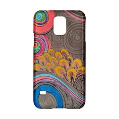 Rainbow Passion Samsung Galaxy S5 Hardshell Case  by SugaPlumsEmporium