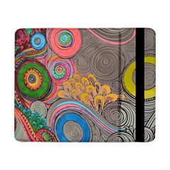 Rainbow Passion Samsung Galaxy Tab Pro 8 4  Flip Case by SugaPlumsEmporium