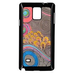 Rainbow Passion Samsung Galaxy Note 4 Case (black) by SugaPlumsEmporium