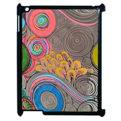 Rainbow Passion Apple Ipad 2 Case (black) by SugaPlumsEmporium