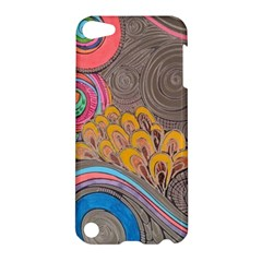 Rainbow Passion Apple Ipod Touch 5 Hardshell Case by SugaPlumsEmporium