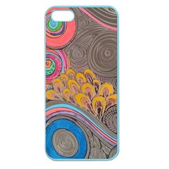 Rainbow Passion Apple Seamless Iphone 5 Case (color) by SugaPlumsEmporium