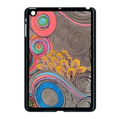 Rainbow Passion Apple Ipad Mini Case (black) by SugaPlumsEmporium