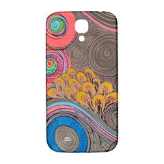 Rainbow Passion Samsung Galaxy S4 I9500/i9505  Hardshell Back Case by SugaPlumsEmporium