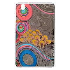 Rainbow Passion Samsung Galaxy Tab Pro 8 4 Hardshell Case by SugaPlumsEmporium