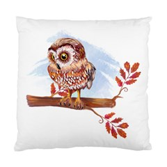 Owl Standard Cushion Case (two Sides) by TastefulDesigns