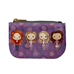 Mean Cuties Coin Change Purse by Ellador