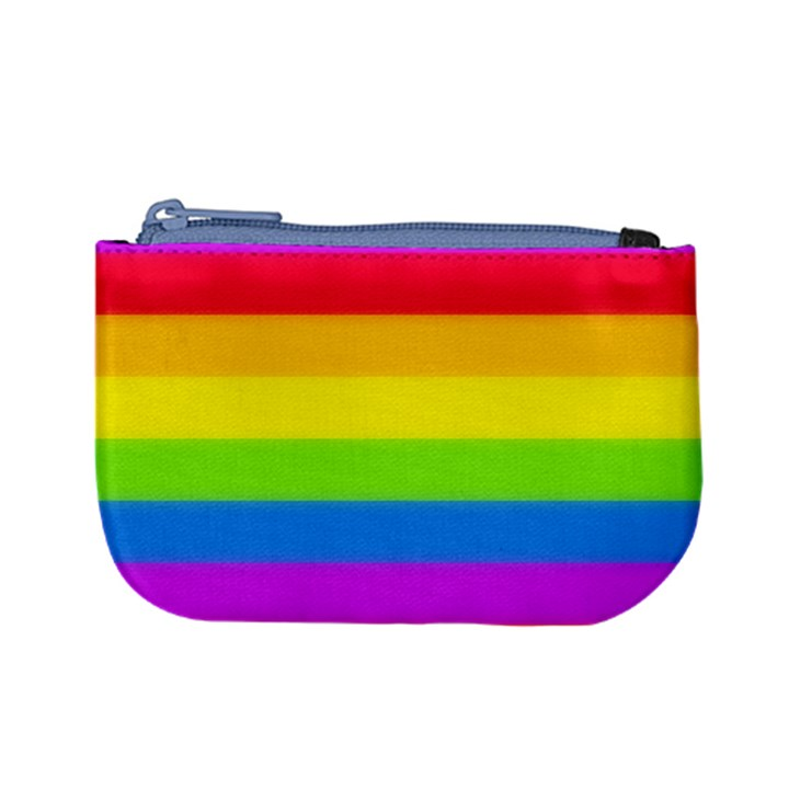 Rainbow Stripes Coin Change Purse