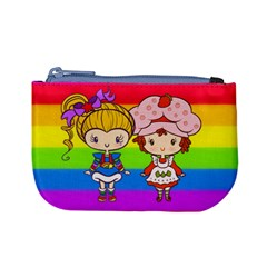 Besties Cuties Coin Change Purse by Ellador