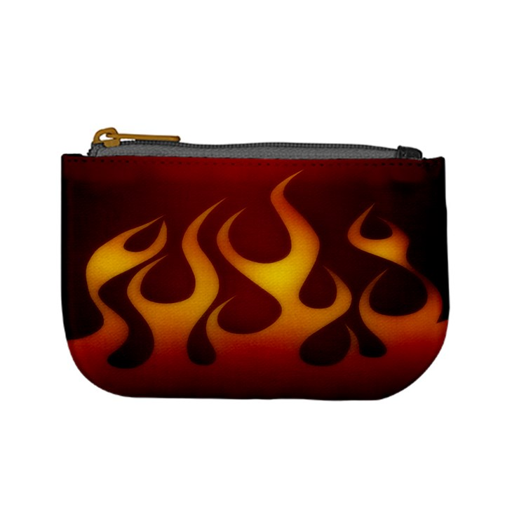 Flame Coin Change Purse