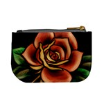 Rose Tattoo Coin Change Purse Back