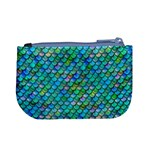 Mermaid Scales Coin Change Purse Back