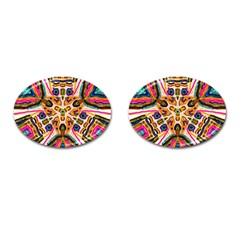 Ethnic You Collecition Cufflinks (oval) by SugaPlumsEmporium