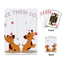 Give Them Love Playing Card