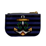 Anchor & Stripes Coin Change Purse Back
