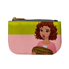 I Carried A Watermelon Coin Change Purse by Ellador