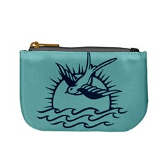 Sparrow Tattoo Coin Change Purse