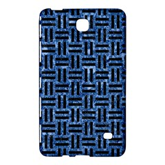 Woven1 Black Marble & Blue Marble (r) Samsung Galaxy Tab 4 (7 ) Hardshell Case  by trendistuff