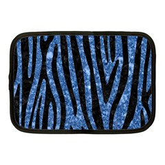 Skin4 Black Marble & Blue Marble Netbook Case (medium) by trendistuff