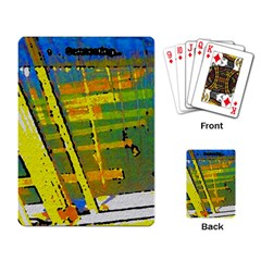Pretty In Yellow Playing Cards Single Design