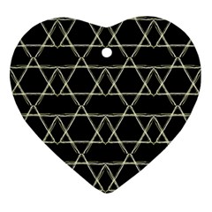 Star Of David   Ornament (heart)  by SugaPlumsEmporium