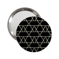 Star Of David   2 25  Handbag Mirrors