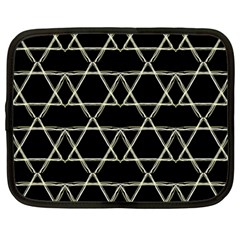 Star Of David   Netbook Case (large)