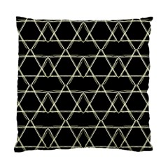 Star Of David   Standard Cushion Case (two Sides) by SugaPlumsEmporium