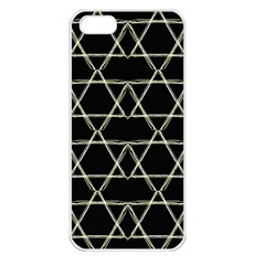 Star Of David   Apple Iphone 5 Seamless Case (white) by SugaPlumsEmporium