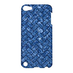 Brick2 Black Marble & Blue Marble (r) Apple Ipod Touch 5 Hardshell Case by trendistuff