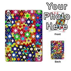 Star Of David Playing Cards 54 Designs  by SugaPlumsEmporium