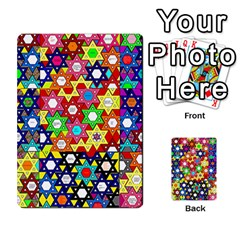 Star Of David Multi Purpose Cards (rectangle)  by SugaPlumsEmporium