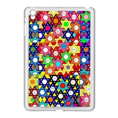 Star Of David Apple Ipad Mini Case (white) by SugaPlumsEmporium